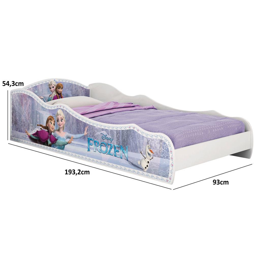 082f050f73 Cama Infantil Frozen Disney Plus Branca Pura Magia - Pura Magia